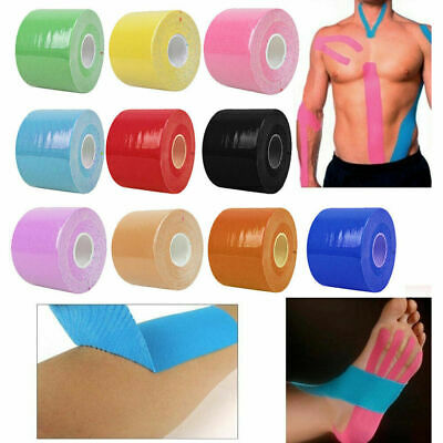 Kinesiology Elastic Sport Tape Physio Running Fitness Knee Injury Muscle Support