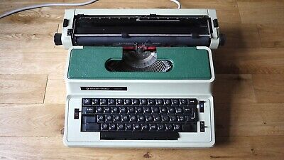 Typewriter electric SILVER REED 2600 UNTESTED CONDITION CLEAN