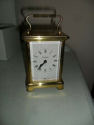 Good Quality Antique French Bayard Duverdrey Bloquel Brass Carriage Clock. Worki