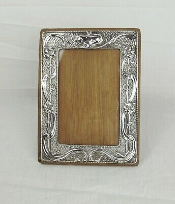 Chester 1905 Art Nouveau Silver Fronted Photo Frame