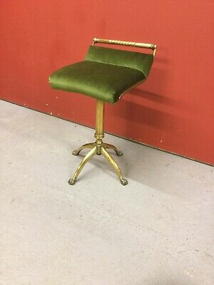 Antique Brass Revolving Piano Stool Sn-38b