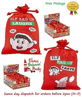 New Electronic Elf Bag Of Farts & Laughs Props On The Shelf Ideas Toy Christmas
