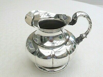 Art Deco Silver Plated 2.5 Pint Water Jug With Ice Catcher   1490524/528