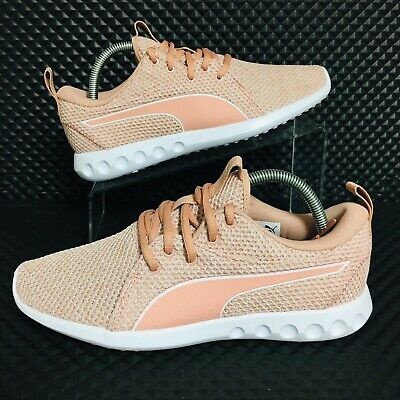 *NEW* Puma Carson 2 Nature Knit (Women's Size 8.5) Athletic Sneakers Dusty Pink