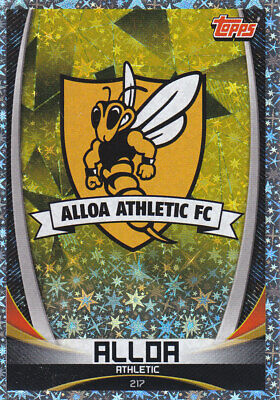 TOPPS MATCH ATTAX SPFL 2019-20 - Club Badge - Alloa Athletic - # 217