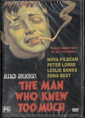 The Man Who New Too Much - Alfred Hitchcock - New & Sealed Dvd