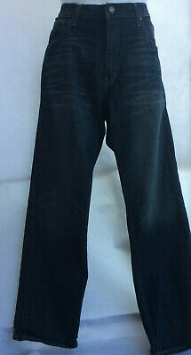 Arizona Jean Co. Men's Relaxed Straight Fit Dark Wash Jeans Size 36W X 32L   A1