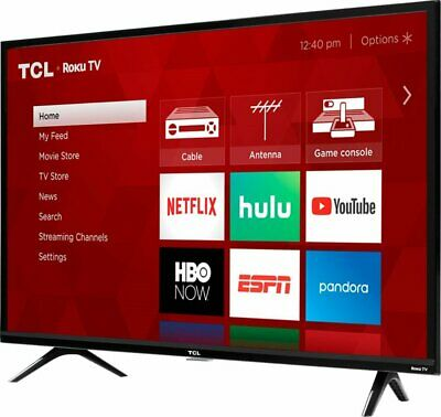"""TCL 40"""" Full HD Roku Smart LED TV - 40S325 BRAND NEW TV FACTORY SEALED"""