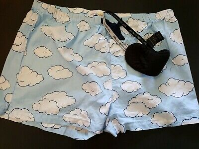 NEW without tags. Peter Alexander Pyjama Pants/shorts with eye mask Size XL