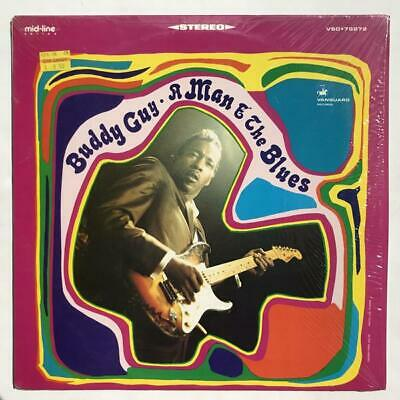 Buddy Guy A Man And The Blues LP NM/NM Chess Reissue in Shrinkwrap