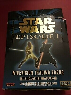 Star Wars Episode 1 Widevision Series 2 Hobby box