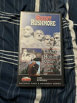 Mount Rushmore: Crazy Horse & The Black Hills VHS Video National Monument