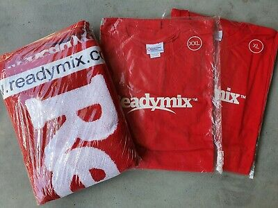 Readymix Concrete Towel And T Shirts