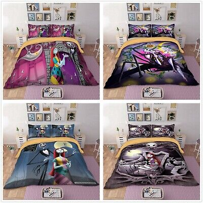 Christmas Duvet Cover Bedding Set with Pillow Cases Sally&Jack Quilt Cover Set