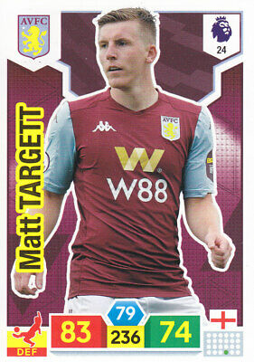 Panini Adrenalyn XL - Premier League 2019-20 - Matt Targett - Aston Villa - # 24