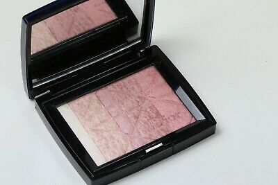 Dior Diorskin Shimmer  Powder Lim Edt 001 Rose Diamond Swatched Twice W/O Box!