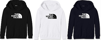 Felpa North Face Nera Bianca Blu Felpata Uomo Donna Fruit Of The Loom Gildan