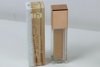 Urban Decay Stay Naked Wightless Liquid Foundation 30Wy Swatched Once In Box!
