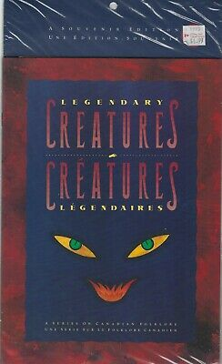 Canada - Thematic Collection #46 - Legendary Creatures (1990) Sealed Cv: $35
