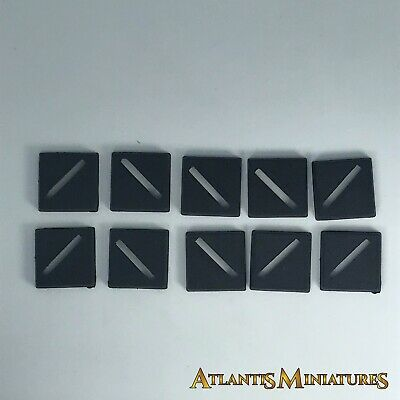 X10 20mm Bases Slotta - Warhammer / Warhammer 40K / Lord of the Rings