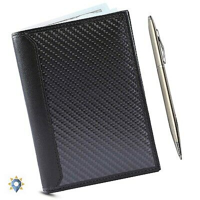 Rfid Passport Cover Coach Holder Travel Document Organizer Case Leather ID Money