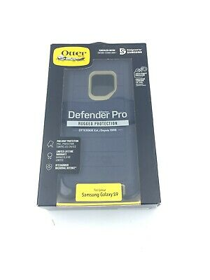 Otterbox Defender Pro Case Belt Clip Holster for Samsung S9 -Dark Lake Blue Box