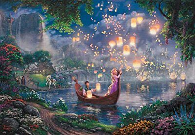 500-piece jigsaw puzzle Tangled Rapunzel and Pascal 35x49cm