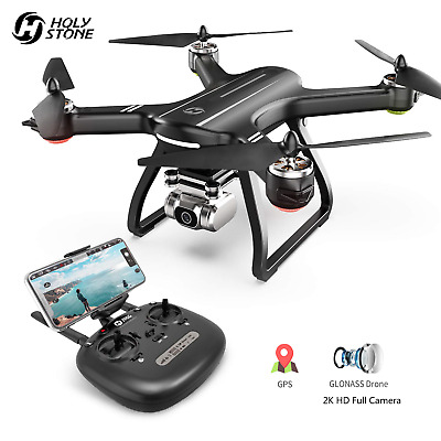Holy Stone HS700D RC Drone with 2K HD Camera GPS FPV Brushless WIFI Quadcopter