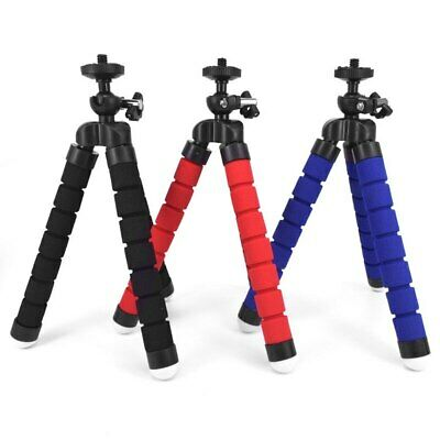 Mobile Phone Mini Flexible Octopus Tripod Stand for Smartphone Clip Holder