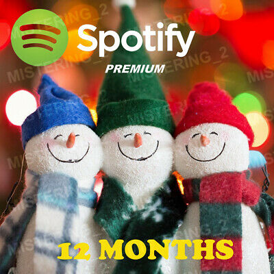 Spotify Premium - 12 Months - Private - Read - Description - Warranty - Support