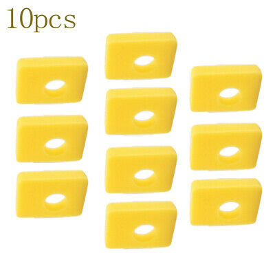 10pcs Set Air Filtre Gazon Tondeuse Rechange Purifiant Nettoyant Mousse Durable