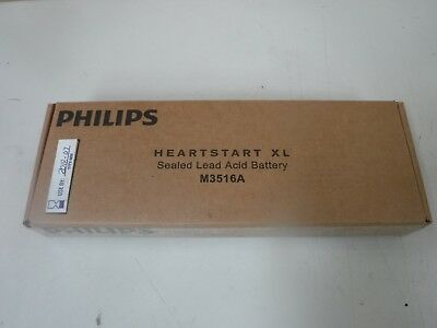 GENUINE Philips M3516A Heartstart XL Lead Acid Battery SEALED NEW