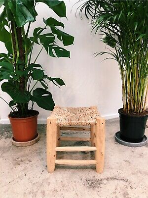 PRICE DROP!! Small Hand Calved Wooden Stool