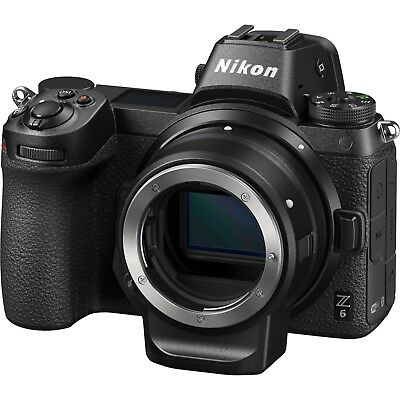 NEW! Nikon Z6 Mirrorless Digital Camera w/ FTZ Mount Adapter *Authorized Dealer*