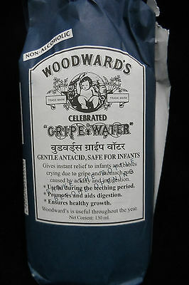 2 Bottles of  WoodWards Gripe Water - Safe for Infants - 130 ml - Free Shipping