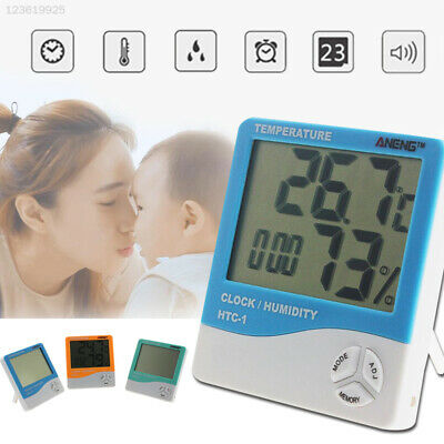 LCD Screen Hygrometer Instrument Device Multifunction Humidity Meter for ANENG