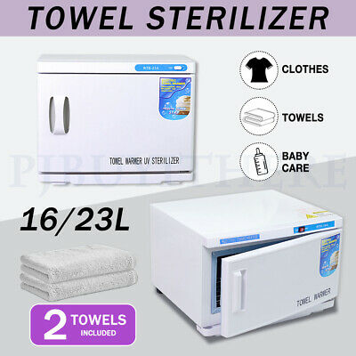 16/23L Towel Warmer Cabinet Heater UV Sterilizer Facial Salon Beauty Equipment