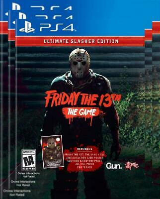 Friday The 13th: Game Ultimate Slasher Edition - PlayStation 4