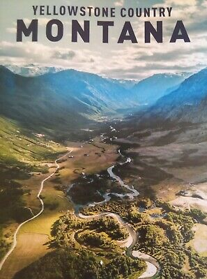 Yellowstone Country Montana 2019 Travel Guide 48 Pages incl. foldout Map NEW