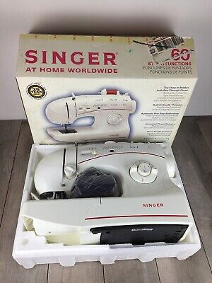 Singer 5160 Sewing Machine/Embroidery/60 Stitch Function Manual Included