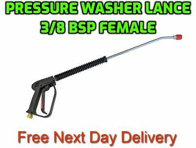 20 x Pressure Washer Jet Washer Gun Lance Nozzle Assembly 3/8 BSPF 15°