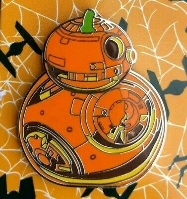 Official Disney Star Wars BB8 bb-8 Droid Halloween Pumpkin Pin New DisneyWorld