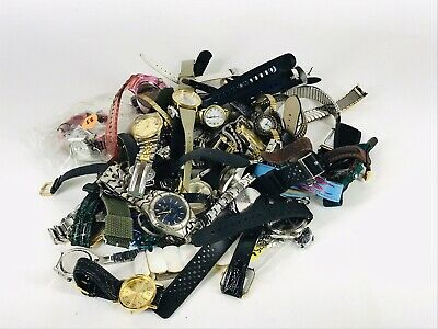 Junk Drawer Mixed Wristwatch's 3+ Lbs over 40pcs Free Shipping (none tested)