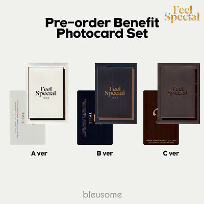 Twice - Feel Special Photocard Set / Pre-Order Benefit Official Photocard