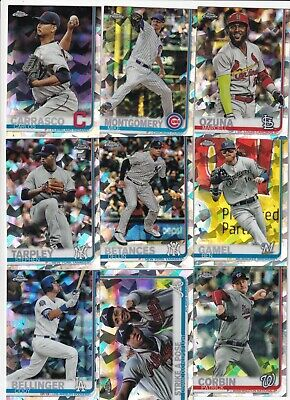 2019 Topps Chrome Sapphire Complete Your Set You Pick Singles #501-600 Scanned