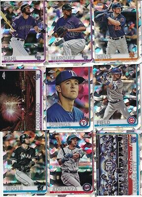 2019 Topps Chrome Sapphire Complete Your Set You Pick Singles #601-700