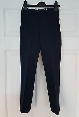 RALPH LAUREN boy Skinny Navy Blue trousers Pants NWT Size 5 6 years formal chino