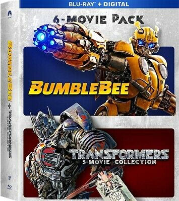 6 MOVIE PACK BUMBLEBEE + TRANSFORMERS 1 2 3 4 5 MOVIE COLLECTION New Blu-ray