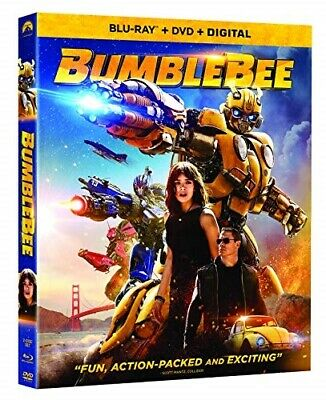 BUMBLEBEE New Sealed Blu-ray + DVD Spinoff of Transformers