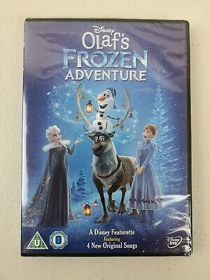 Disney Olaf's Frozen Adventure [DVD] Brand New Sealed + 4 Original Songs